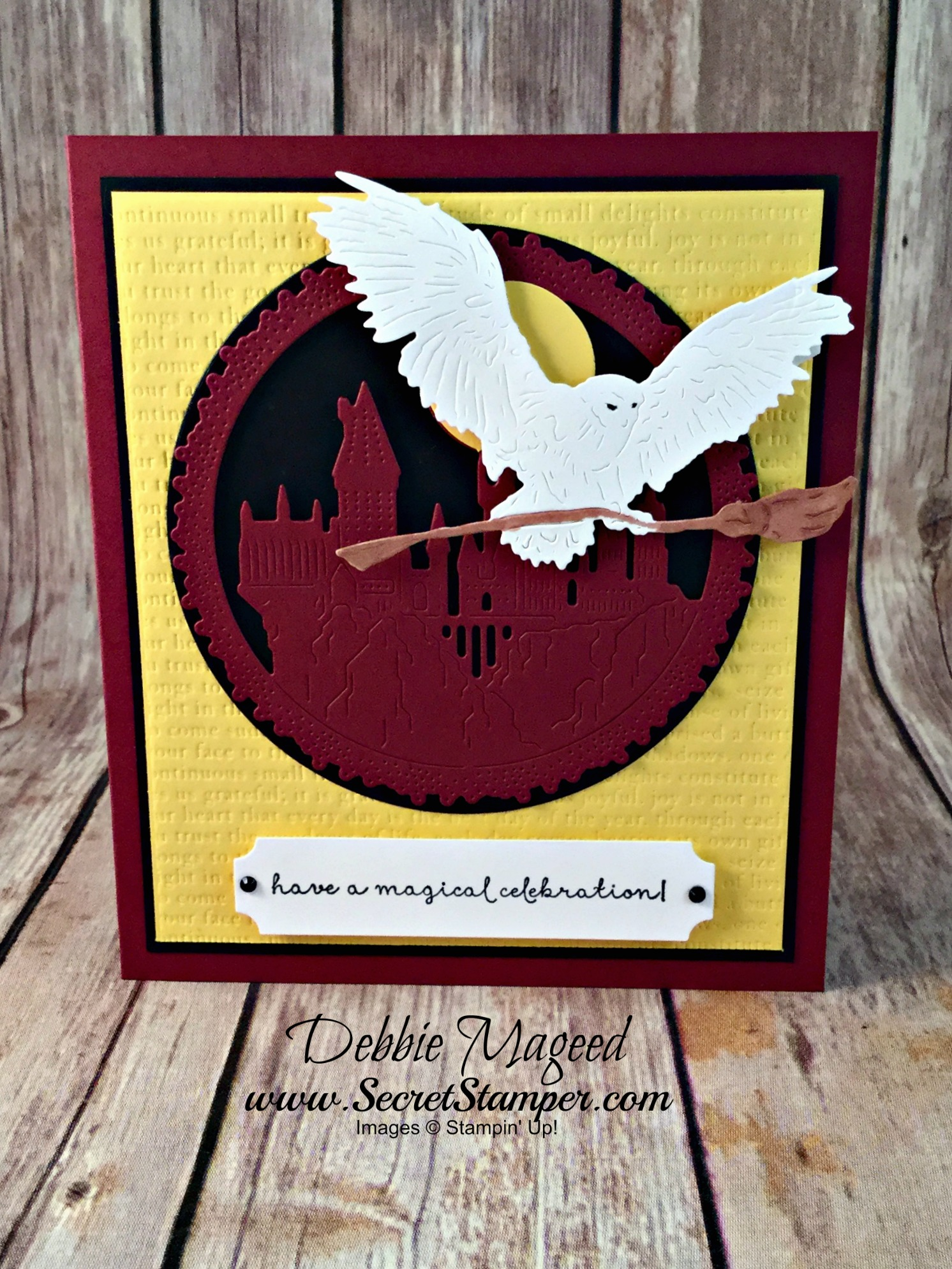 A Fairy Celebration Makes Fun Harry Potter Birthday Card For Cardz 4 Galz
