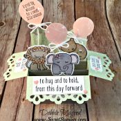 Adorable Baby Card Featuring #ALittleWild, #BabyWe