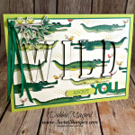 Crazy about You and the Animal Expedition Suite for Hand Stamped Sentiments