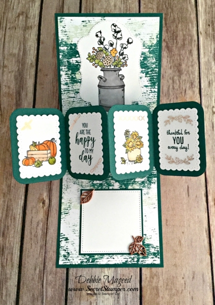 Twist Pop-Up Card Featuring #DandelionWishes, #CountryHome, #ManyBlessings, #Autumn, #HolidayCatalog, #SecretsToStamping, #StampinUpTwist Pop-Up Card Featuring #DandelionWishes, #CountryHome, #ManyBlessings, #TwistPopUp, #Autumn, #HolidayCatalog, #SecretsToStamping, #StampinUp