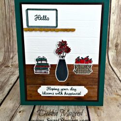 Great Rustic Card Featuring #BikeRide, #VariedVases, #BackToSchool, #AllOcassion, #SecretsToStamping, #StampinUp