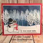 It's a Winter Wonderland with Spirited Snowmen for Stinkin' Inkers