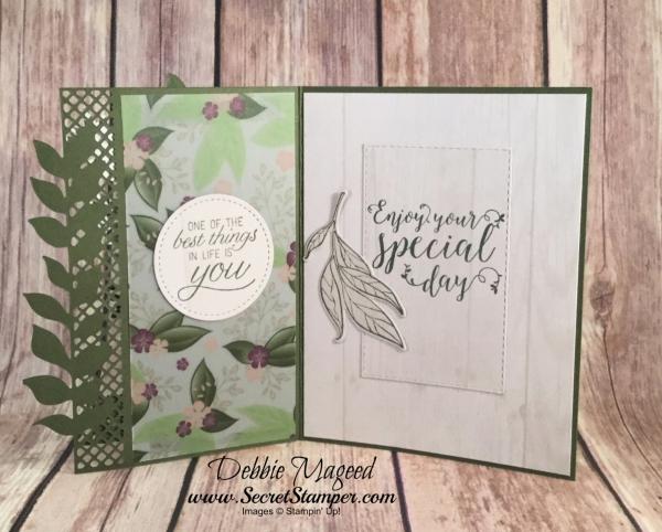 Wonderful Romance Birthday Card Featuring Wonderful Romance Stitched All Around Very Vintage #Birthday #OccasionsCatalog #SecretsToStamping #StampinUp