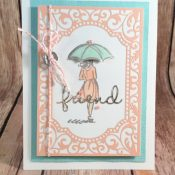 Lovely Friendship Card Using Beautiful You Stamp Set by Stampin