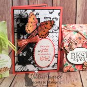 Pretty Friendship Card using Part of My Story Stamp Set by Stampin