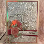 Vintage Birthday Card using Itty Bitty Birthdays and Tea Together Stamp Sets by Stampin