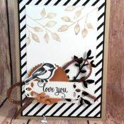 Lovely Valentine Card Using Petal Palette Stamp Set by Stampin
