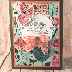 Floral Thinking of You Card Featuring Lasting Lily by Stampin' Up!