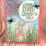 Sweet Card for a Loved One Using Fable Friends by Stampin
