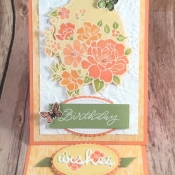Floral Birthday Card That