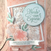 Pretty Spring Card Featuring Painted Seasons by Stampin