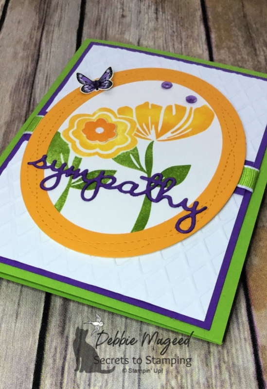 Sympathy Card Using Bloom by Bloom by Stampin' Up!