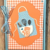 Sweet All Occasion Card Featuring Apron of Love by Stampin