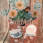 Tuxdeo Card Features Oh So Eclectic, Amazing Life, Petal Palette and Incredible Like You by Stampin