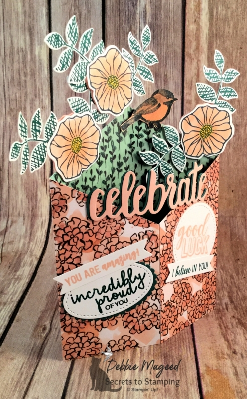 Tuxdeo Card Features Oh So Eclectic, Amazing Life, Petal Palette and Incredible Like You by Stampin' Up!