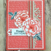 Beautiful Birthday Card Features April 2019 Paper Pumpkin by Stampin