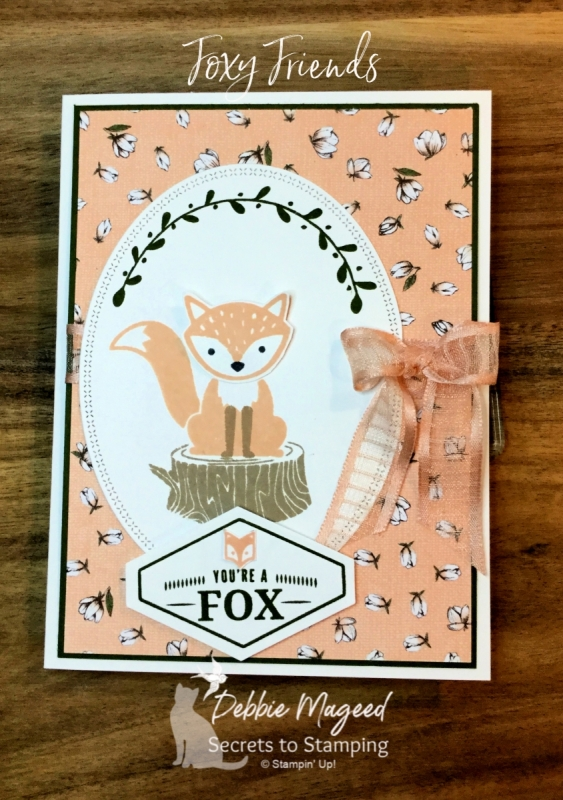 Sweet All Occasion Card Featuring Foxy Friends by Stampin' Up!