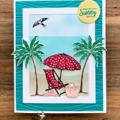 Nautical All Occasion Card using Beach Happy by Stampin