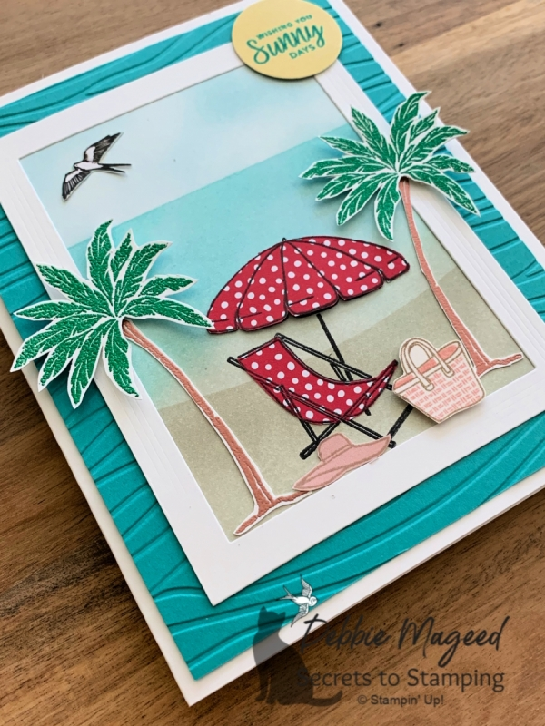 Nautical All Occasion Card using Beach Happy by Stampin' Up!