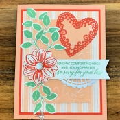 Sympathy Card featuring Floral Essence by Stampin