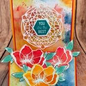 Cheerful Friendship Card using Beautiful Promenade by Stampin