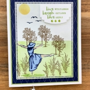 Beautiful You Card By Stampin