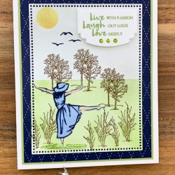 Beautiful You Card By Stampin' Up!