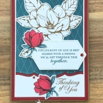 Good Morning Magnolia Card for Hand Stamped Sentiments