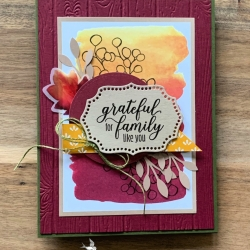 Project using August Paper Pumpkin Kit by Stampin' Up!