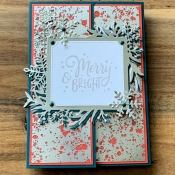 Elegant and Easy Holiday Card Using Festive Everything by Stampin