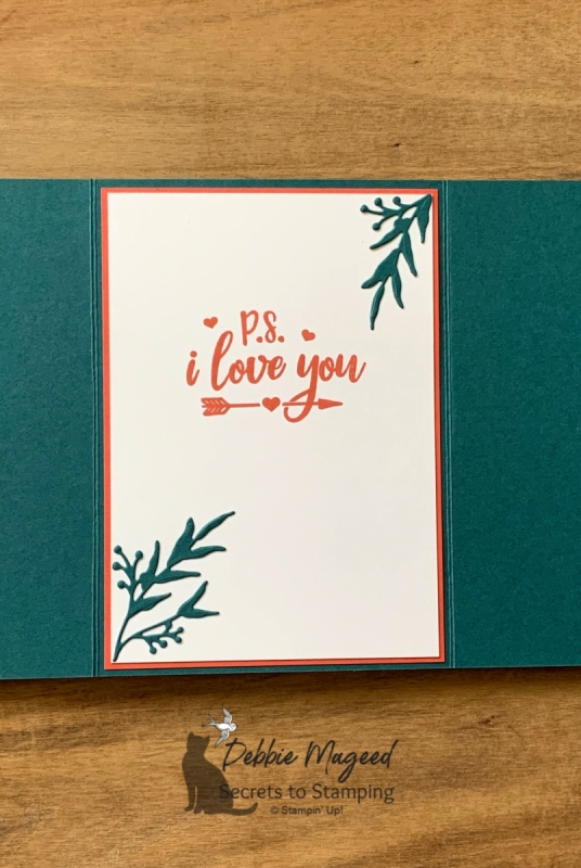Elegant and Easy Holiday Card Using Festive Everything by Stampin' Up!