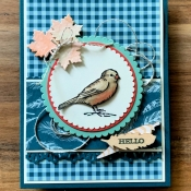 Autumn All Occasion Card Featuring Free As A Bird by Stampin