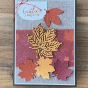 Thanksgiving Card Featuring Come to Gather Suite by Stampin