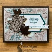 Rustic Thanksgiving Card Using Gather Together by Stampin