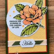All Occasion Card Featuring Good Morning Magnolia by Stampin