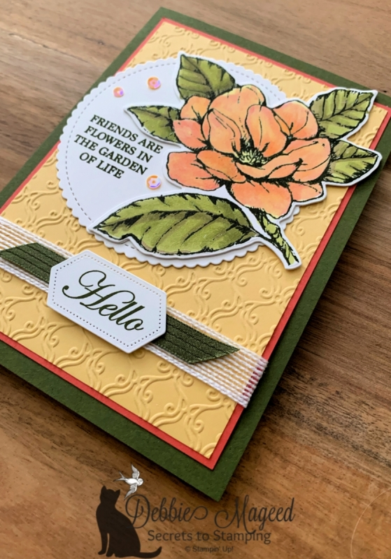 All Occasion Card Featuring Good Morning Magnolia by Stampin' Up!