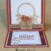 All Occasion Card Using Swirly Frames, Free As A Bird, and Country Home Stamp Sets by Stampin