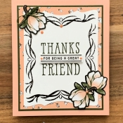 Friendship Card Featuring Good Morning Magnolia Stamp Set by Stampin