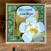 Friendship Canvas Featuring Good Morning Magnolia by Stampin