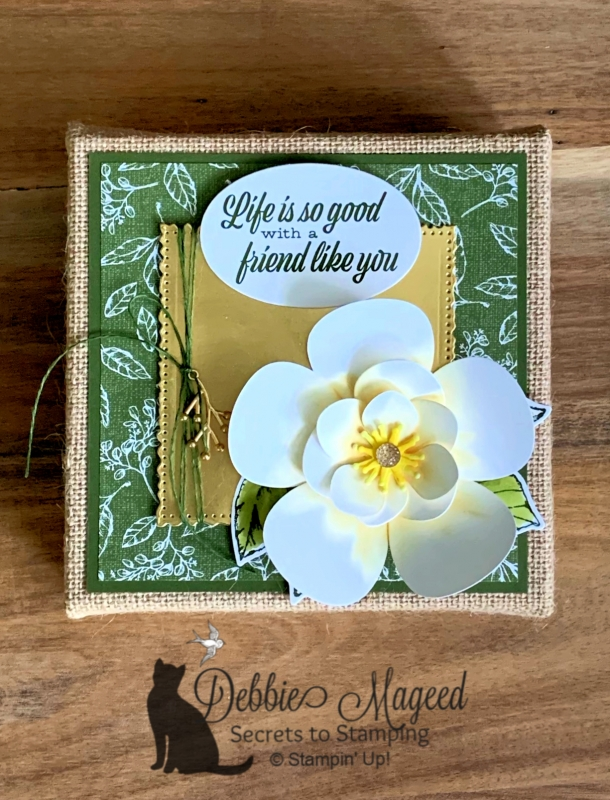 Friendship Canvas Featuring Good Morning Magnolia by Stampin' Up!