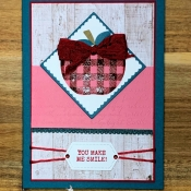 Autumn All Occasion Card Featuring Harvest Hellos Stamp Set by Stampin