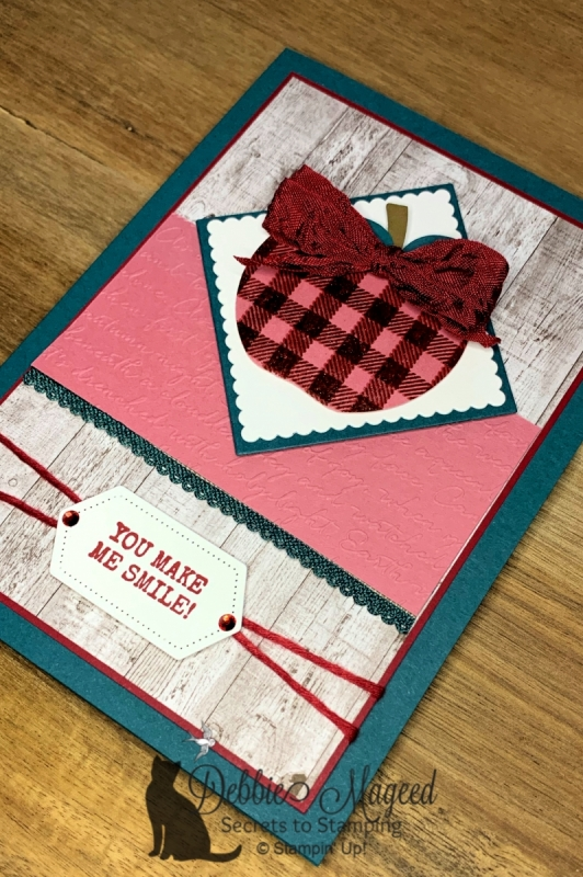 Autumn All Occasion Card Featuring Harvest Hellos Stamp Set by Stampin' Up!
