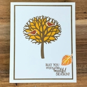 Clean & Simple Autumn Featuring Thoughtful Branches by Stampin