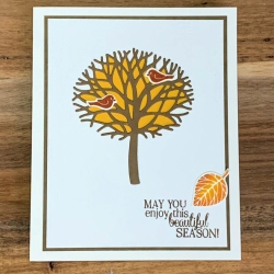Clean & Simple Autumn Featuring Thoughtful Branches by Stampin' Up!