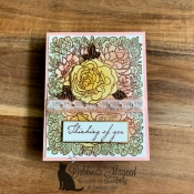 Breathtaking Bouquet Card by Stampin