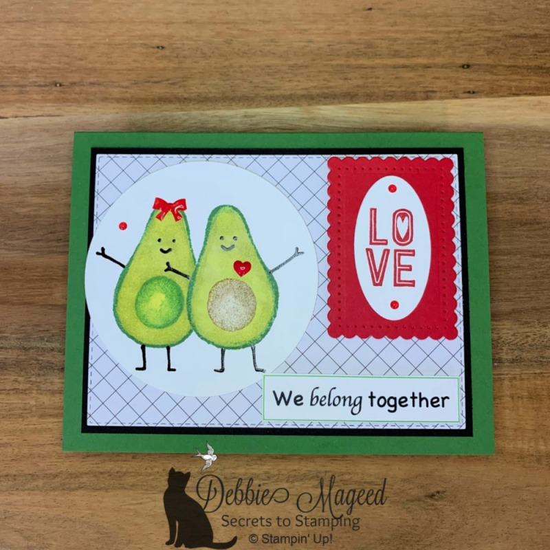 Fun Card Featuring Garden Goodness Stamp Set by Stampin' Up!