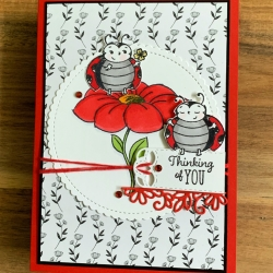 Adorable Little Ladybug Stamp Set from Stampin' Up!