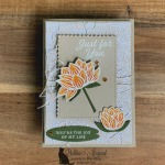 Kraft All Occasion Lovely Lily Pad Card for Cardz 4 Galz