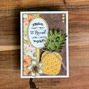 Friendship Card Featuring Timeless Tropical Stamp Set by Stampin