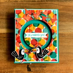 Fun Birthday Card Featuring Bonanza Buddies by Stampin' Up!